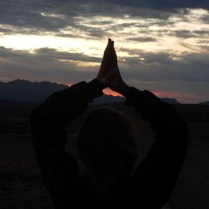 sunset yoha