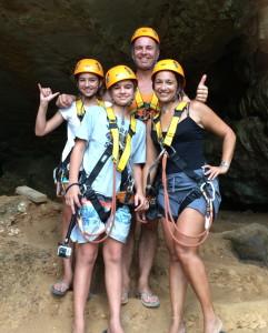 Caving & Zip lines in Lao