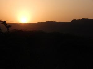 Ranthambhore sunrise