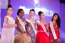 Two of the Top 5 @ Miss World